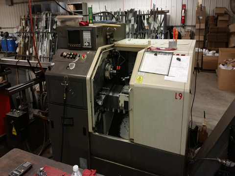 Axis CNC Machine MI