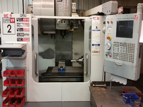 CNC Machine 1